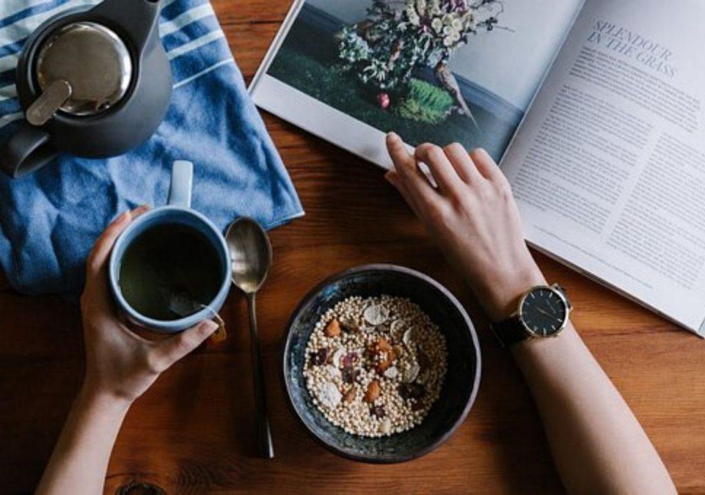 Creando un equilibrio entre lo que haces y lo que comes