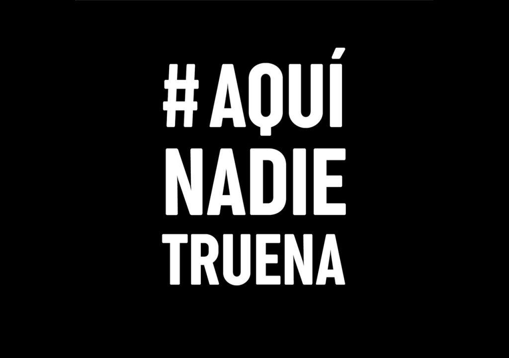 Todo Jalisco se une al movimiento #AquíNadieTruena